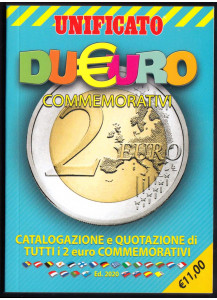 2020 Catalogo CIF 2 Euro Commemorativi  UNIFICATO
