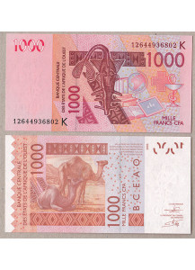 SENEGAL (W.A.S.) 1000 Francs 2012