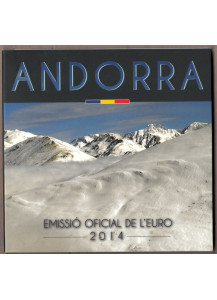 ANDORRA Official Euro Coin Set BU Bargain Price