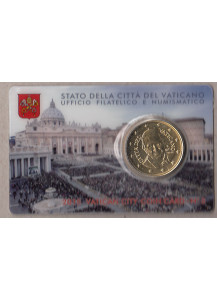 2015 - Coin Card 50 Centesimi Papa Francesco N.6
