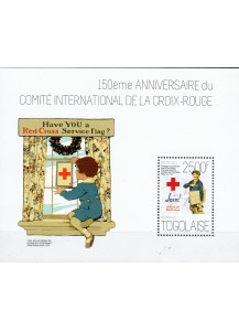 TOGO BF New Stamps 2014  Red Cross