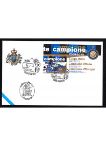 First Day Cover Inter Club Football champions of europe 26-07-2010