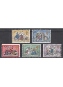 1979 GREAT BRITAIN Christmas 5 val.