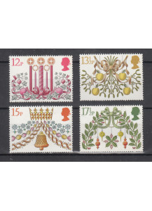 1980 GREAT BRITAIN Christmas 4 val.