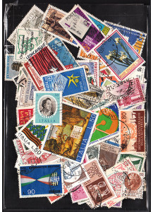 ITALY - Sachet composed by 150 different Italian stamps postmarked mixed years