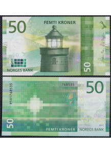 NORWAY 50 Kroner 2017 Uncirculated
