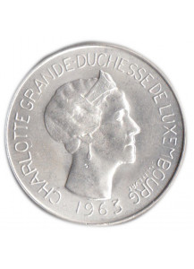 LUXEMBOURG 100 Francs 1963 AG Charlotte Extra Fine