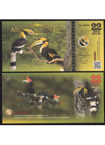 FORESTA ATLANTICA  22 Aves Dollars 2016 Buceros bicornis Fds