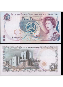 ISLE OF MAN 5 Pounds 2015 Fior di Stampa