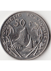 POLINESIA FRANCESE 50 Francs Fdc 1985