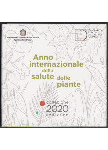 2020 - ITALY Official Divisional Euro 9 Plant Health Coins FDC