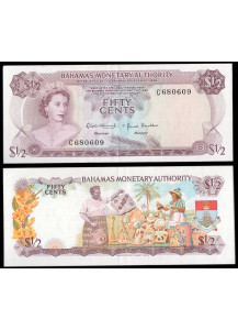 BAHAMAS 50 Cents 1968 Fior di Stampa