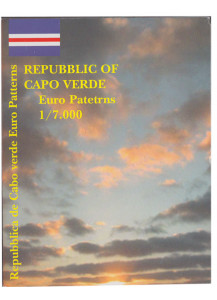 CAPO VERDE 2004 serie completa 8 monete coin collection prova