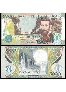 COLOMBIA 5000 Pesos 2009 BB+