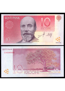 ESTONIA 10 Krooni 2007 Uncirculated