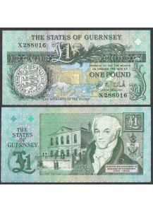 GUERNSEY 1 Pound 1991 Uncirculated
