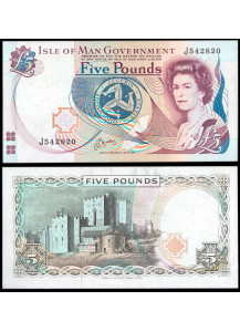 ISLE OF MAN 5 Pounds 1991 Uncirculated
