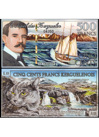 KERGUELEN ISLANDS 500 Francs 2011 Fds