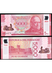 PARAGUAY 5000 Guaranies 2011 (2013) Polymer Fds