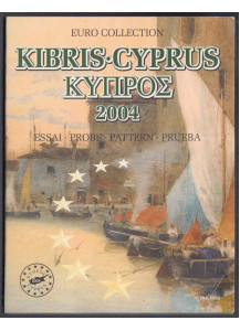 CYPRUS 2004 complete series 8 coins coin collection Rare proof