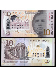 SCOTLAND 10 Pounds 2016 Uncirculated