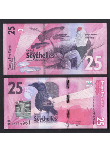 SEYCHELLES 25 Rupees 2016 Fior di Stampa