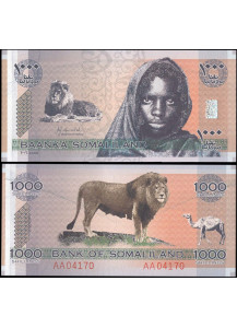 SOMALILAND 1000 Shillings 2006 Fds