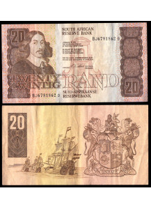 SUD AFRICA 20 Rand 1978-93  MB+