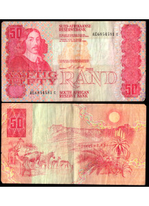 SUD AFRICA 50 Rand 1978-93  MB+