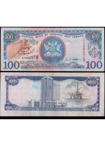 TRINIDAD & TOBAGO 100 Dollars 2002 BB