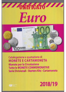Catalogo Monete e Cartamoneta Euro 2018/19  UNIFICATO