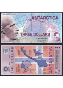 ANTARCTICA Polimera 3 ant.dollars 2007 Fds