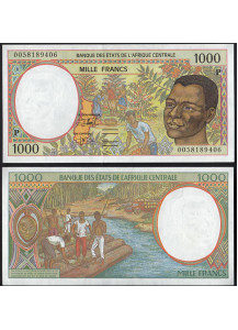 CHAD (C. A. S.) 1000 Francs 2000 Fior di Stampa