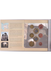 ESTONIA 2004 serie completa 8 monete coin collection prova