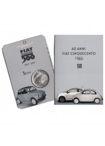 2017 - 5 Euro 60 Years since the birth of the FIAT 500 in Folder