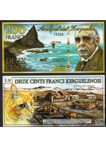 ISOLE KERGUELEN 200 Francs 05.11.2010 Fior di Stampa