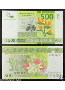 FRENCH PACIFIC TERRITORIES 500 Francs 2014 Fior di Stampa