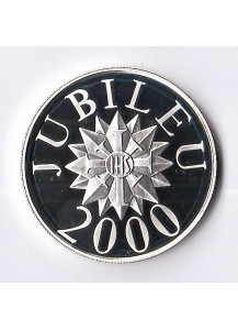 SAINT THOMAS AND PRINCE 1000 dobras Proof  Silver Jubilee year 2000